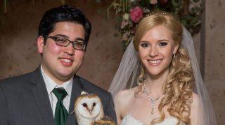 Harry Potter wedding owl ring bearer