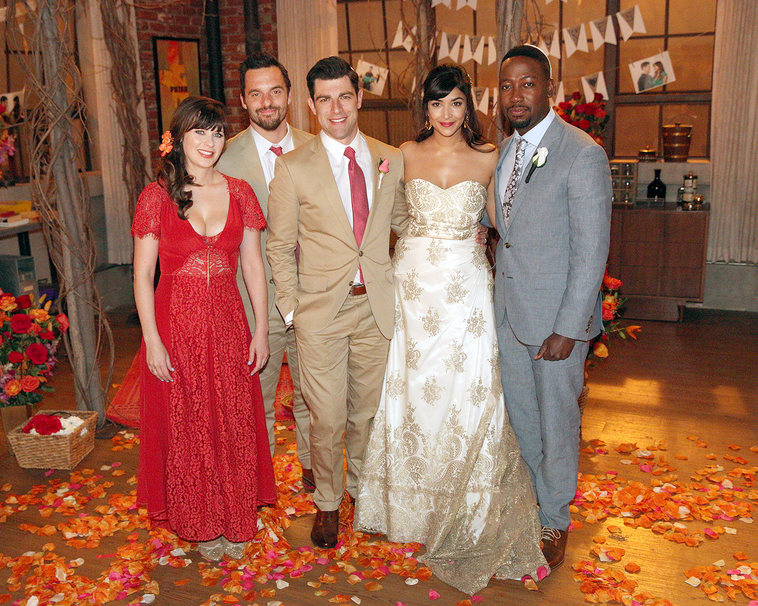 New Girl\'s Cece and Schmidt Wedding Photos: First Look!