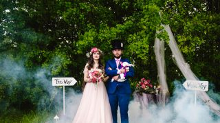 alice wonderland wedding