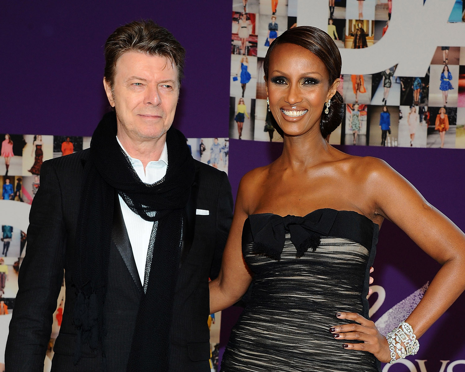 Iman Remembers David Bowie On Wedding Anniversary