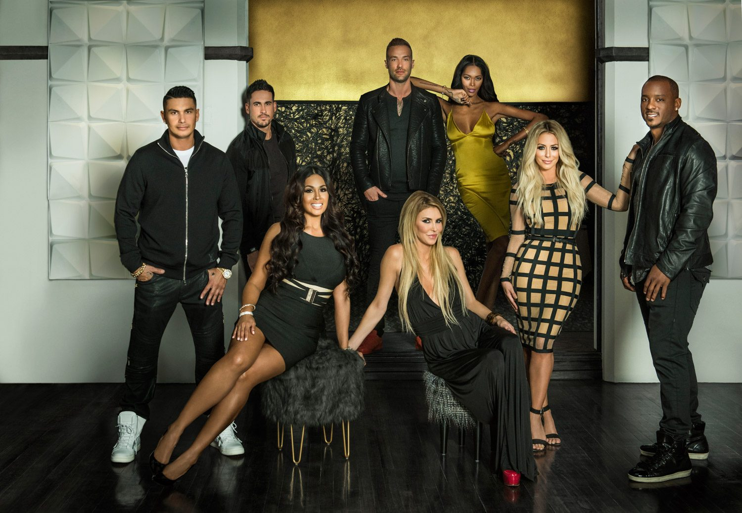 Famously Single Group Shot