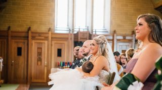 Breastfeeding Bride Photographer