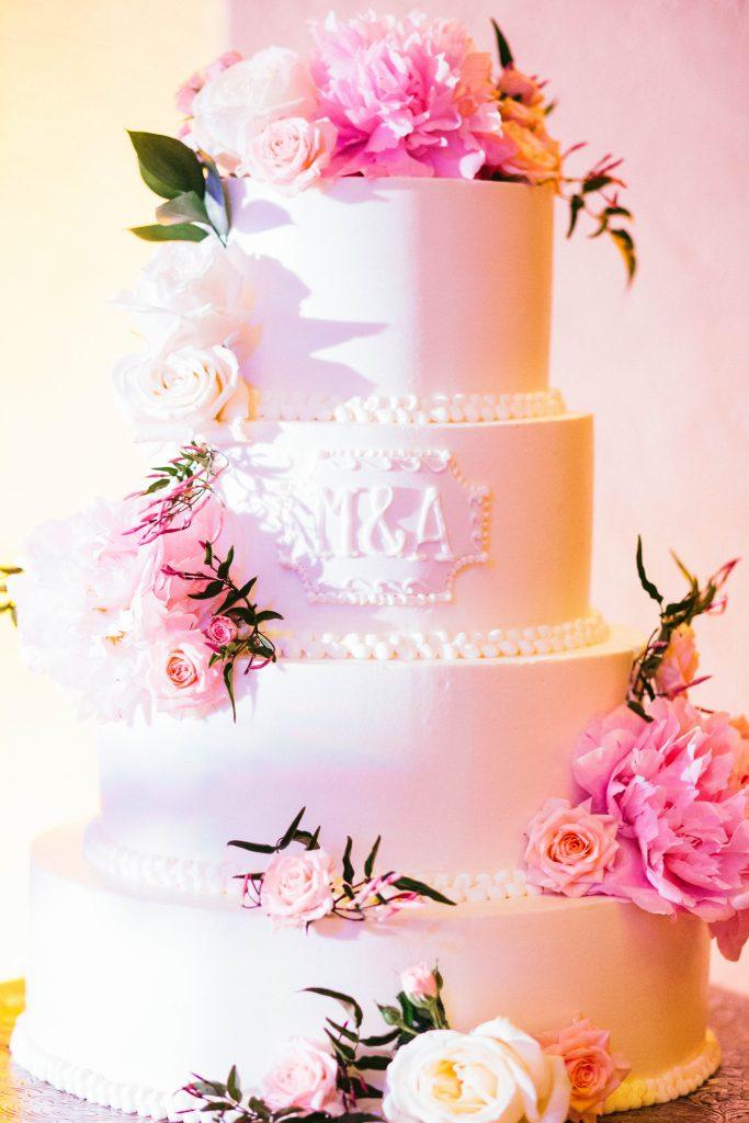 Maggie Rose Wedding Cake