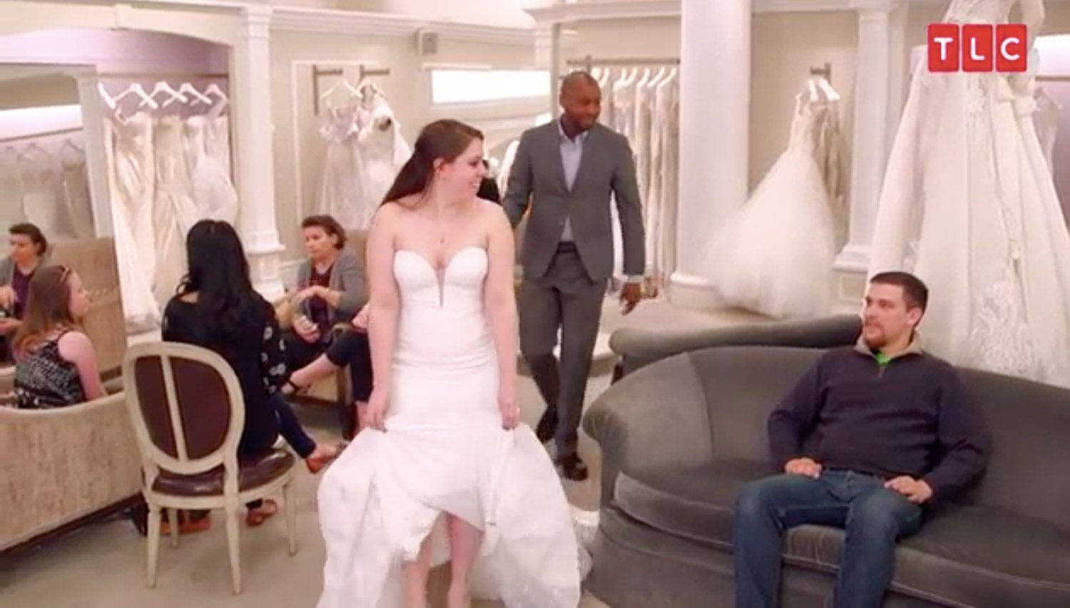 Say yes to the dress bride shares surprise proposal details say yes to the dress tlc ombrellifo Gallery