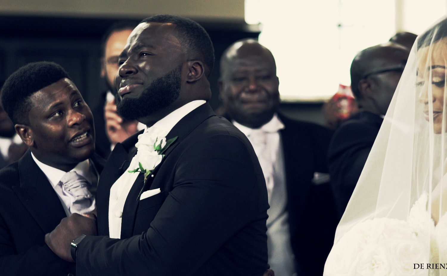 Photographer Captured Brides Son Crying as he Watched His Mom Walks Down the Aisle