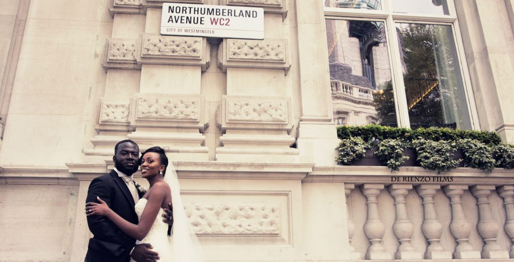 The videographer who captured a London groom breaking down as his bride makes her way down the aisle in a viral video opens up exclusively to The Knot! (Photo courtesy of De Rienzo Films)