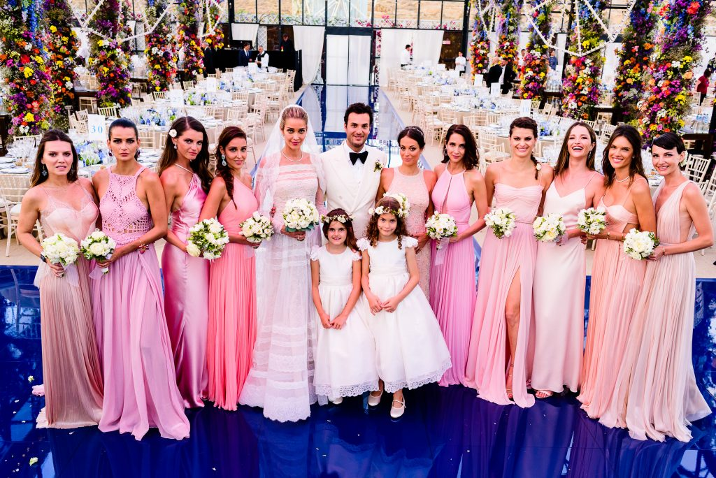 Ana Beatriz Barros Wedding Bridesmaids