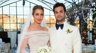 Ana Beatriz Barros, who married businessman Karim El Chiaty this past weekend, opens up to The Knot about her supermodel-studded wedding. (Photo credit: Jerome Duran)