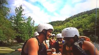 whitewater rafting proposal