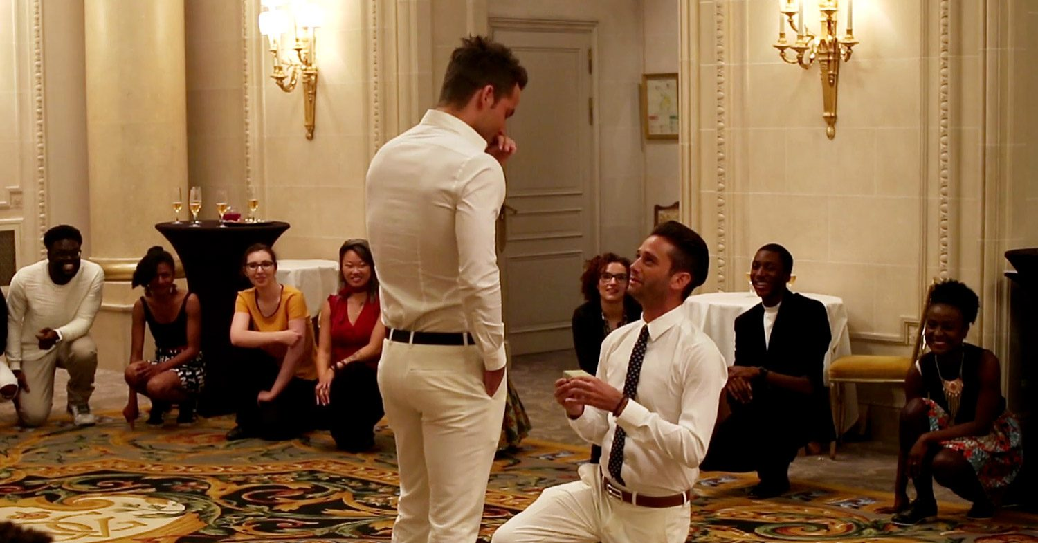 Million Dollar Listing La S Josh Flagg S Proposes With