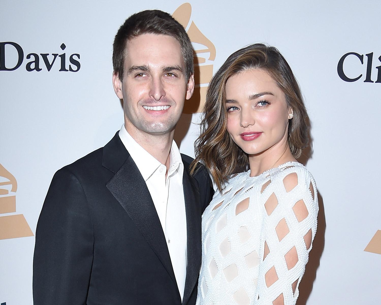 Miranda kerr is engaged to snapchat founder evan spiegel - Evan spiegel miranda kerr ...
