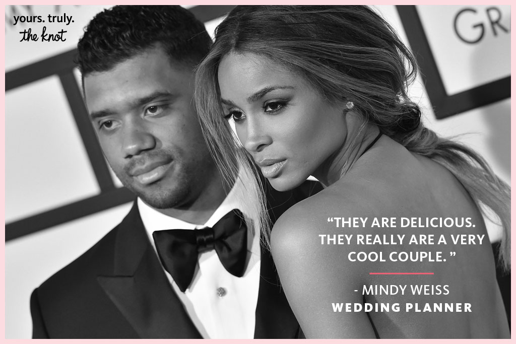Ciara Russell Wilson Wedding planner mindy weiss