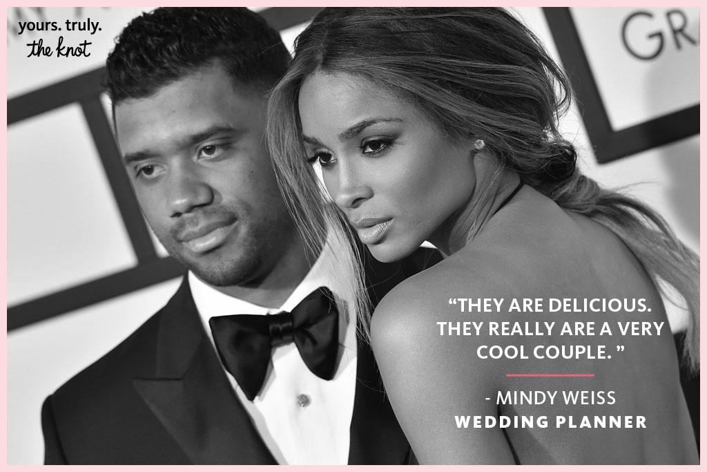 Ciara Russell Wilson Wedding planner mindy weiss