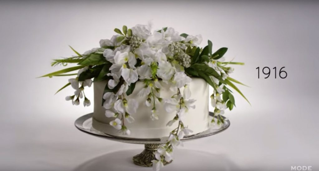 100 years wedding cakes