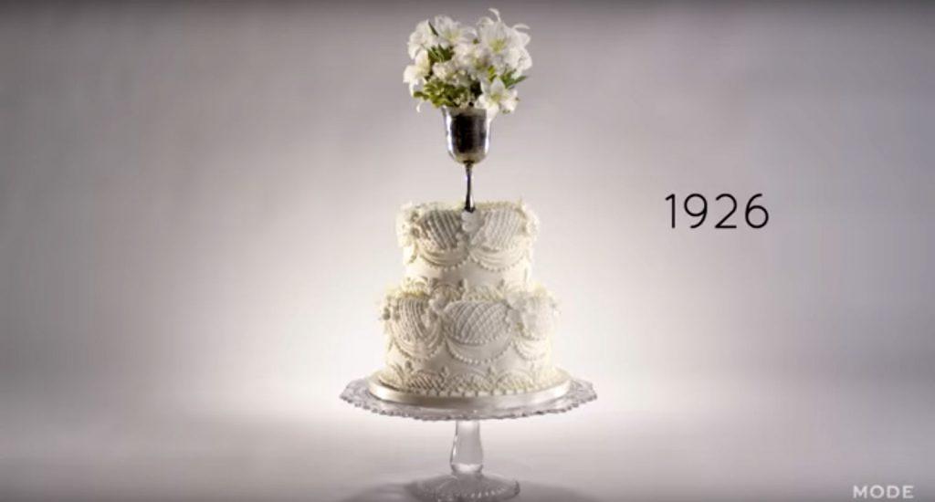 1926 cake wedding