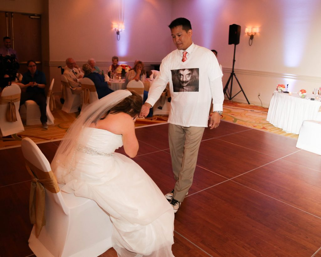 father daughter dance groom surprise