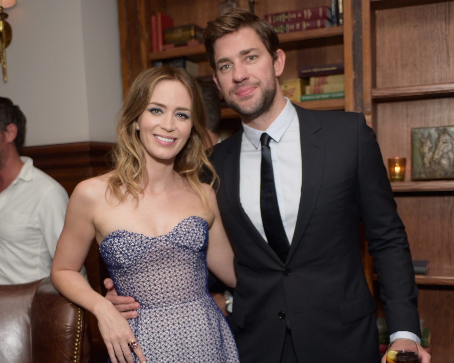 John Krasinski Recalls When Emily Blunt Caught Him Watching Devil Wears Prada