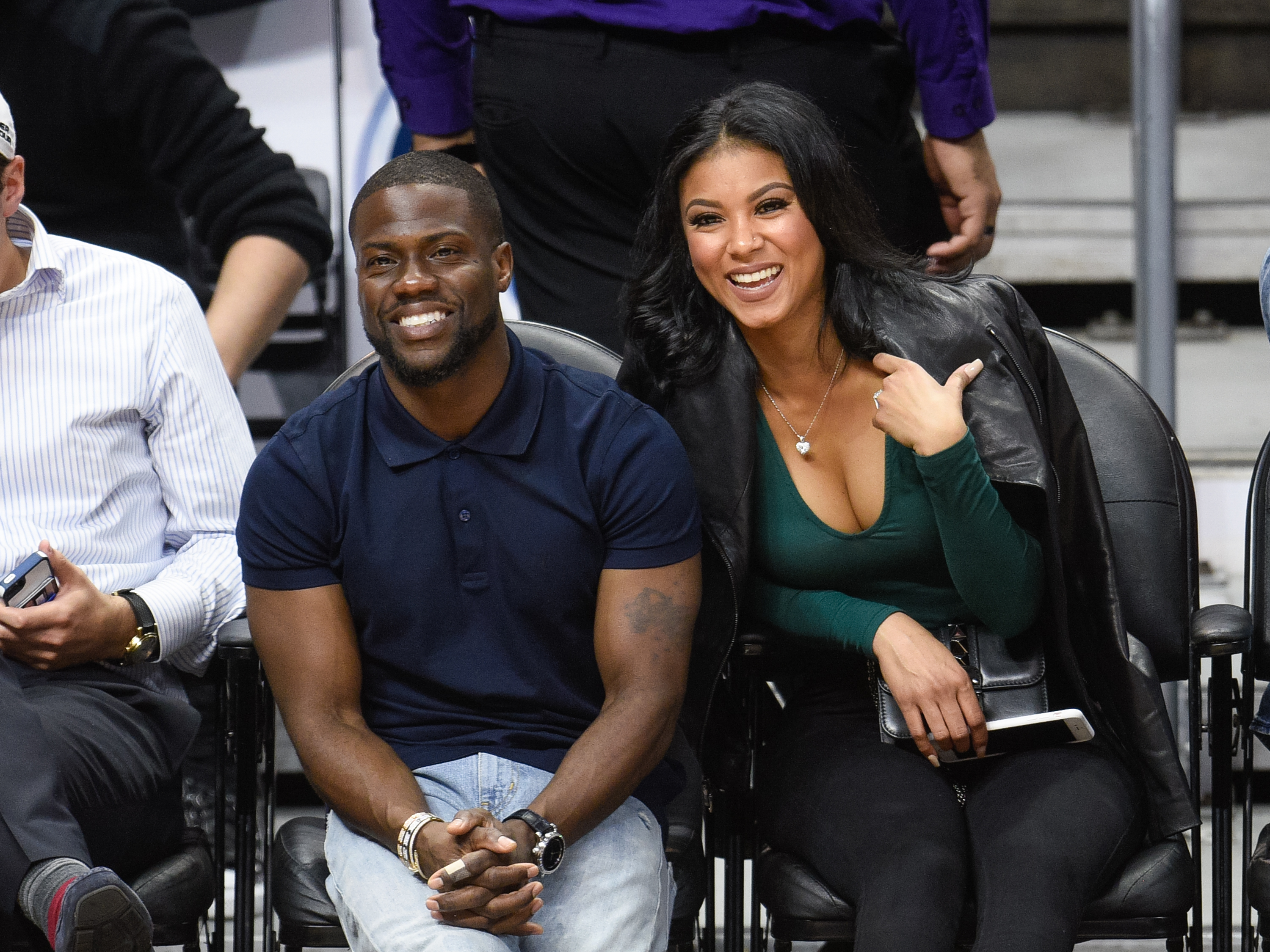 Kevin Hart S Wife Eniko Parrish Wore Two Vera Wang Wedding