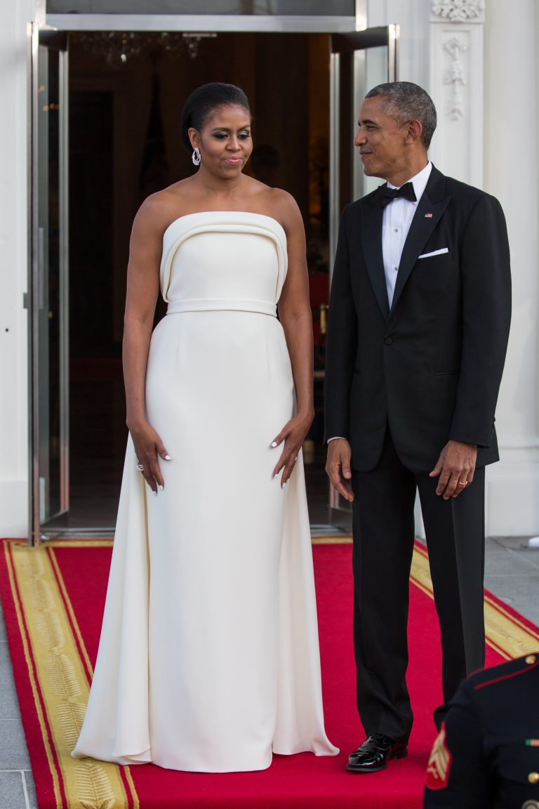 Obama in wedding
