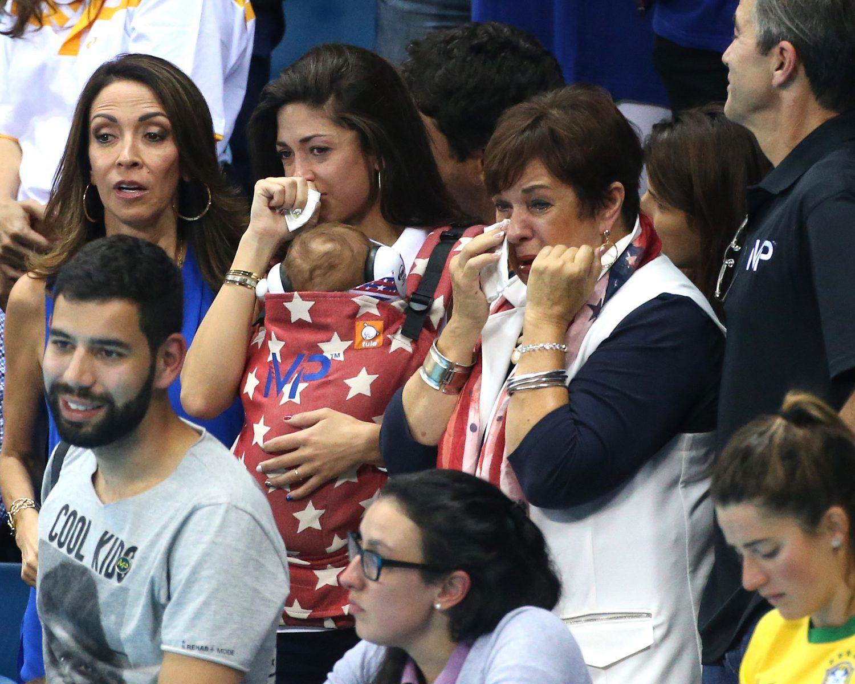 Michael Phelps fiancee mom