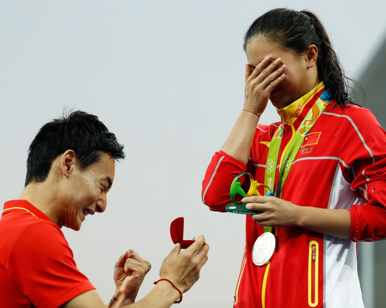 chinese diver proposal