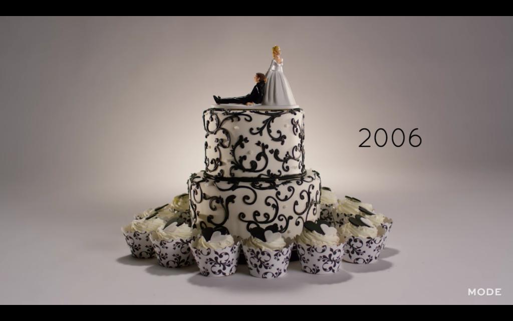 2006 wedding cake