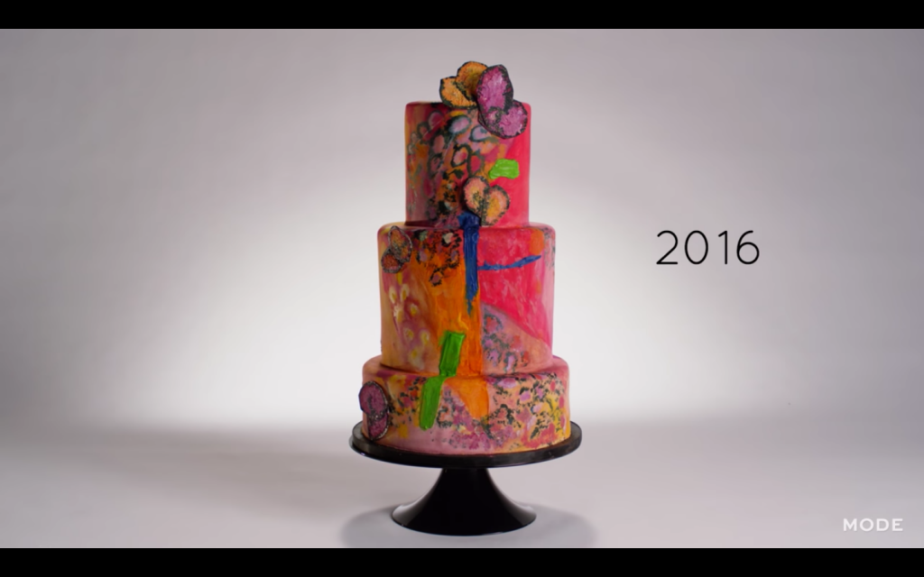 100 years wedding cakes 2016
