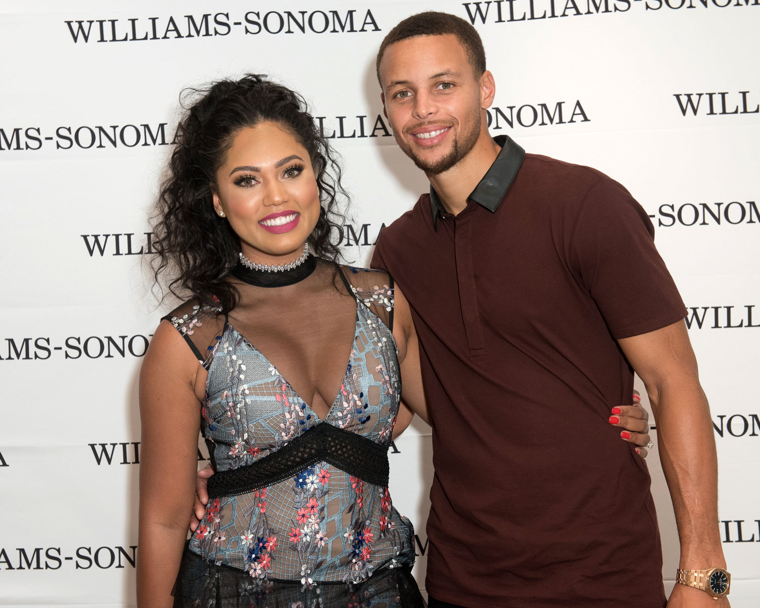 Ayesha Curry shares her marriage advice with The Knot after celebrating her fifth wedding anniversary with Steph Curry this summer