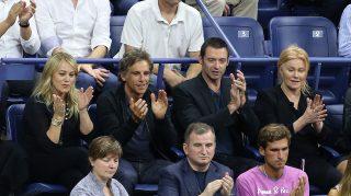 Ben Stiller Christine Taylor US Open