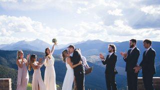 bride groom wedding engagement same day
