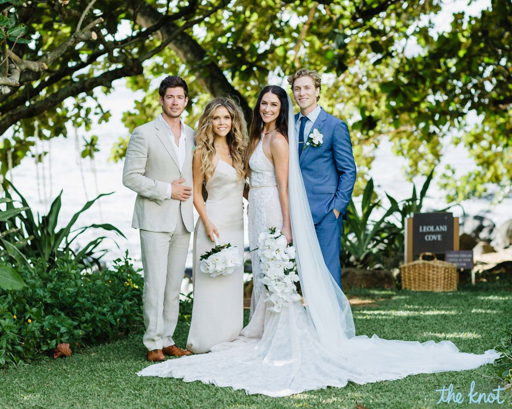 Tone It Up S Karena Shares Her Wedding Album Exclusive