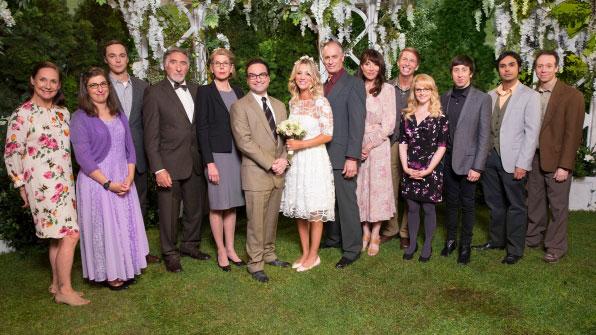 Bang Theory Wedding