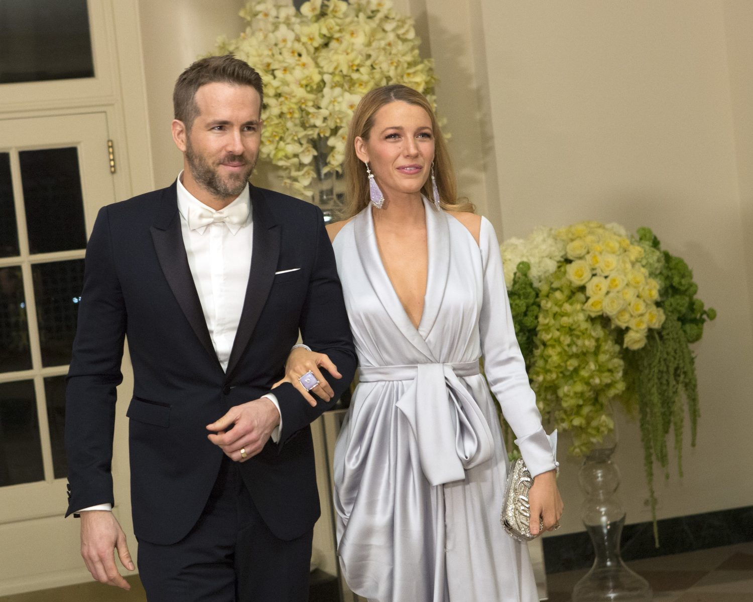 Blake Lively and Ryan Reynolds Return to the Spot Where They Fell in ...