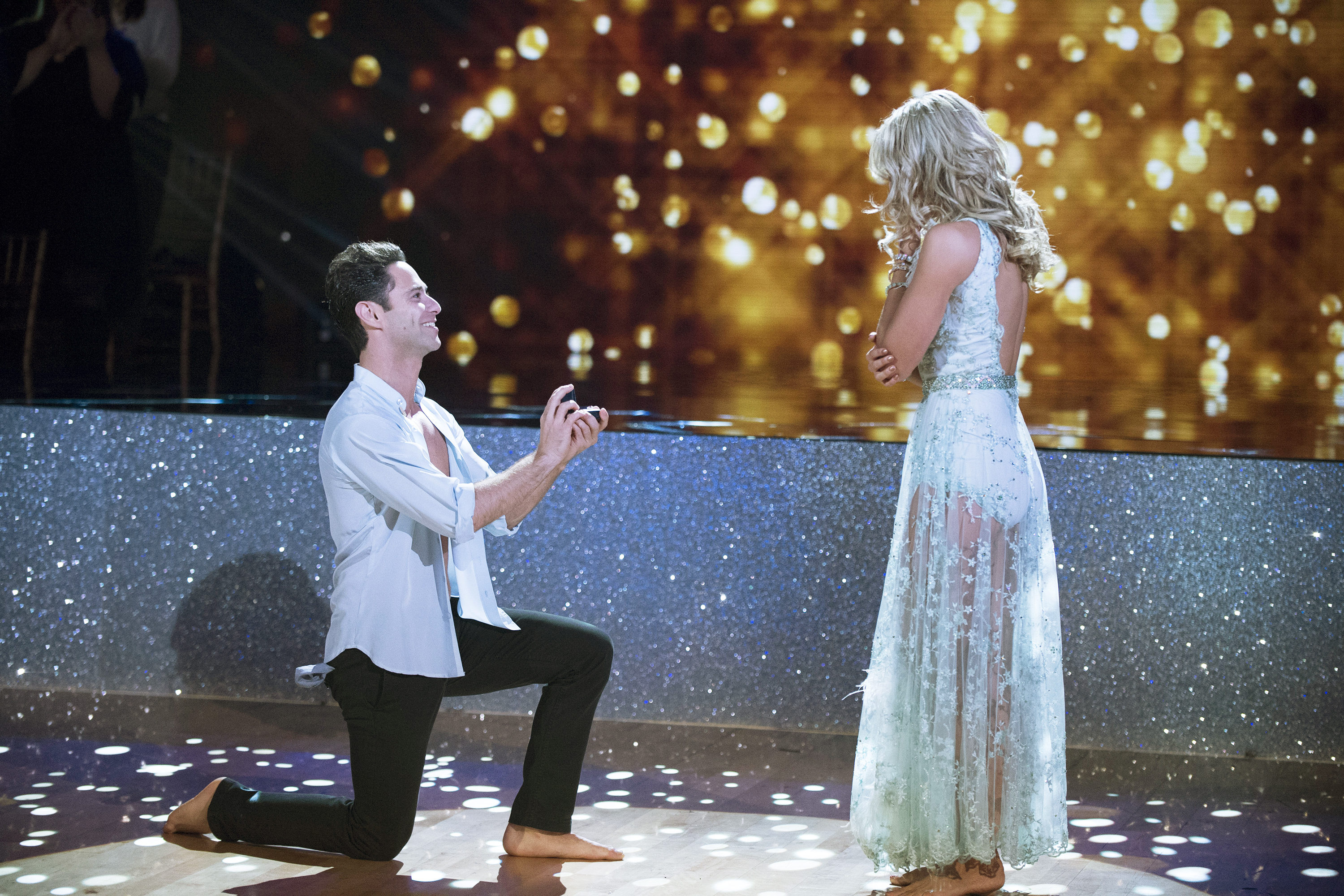 DWTS Pros Emma Slater and Sasha Farber Are Engaged! Watch