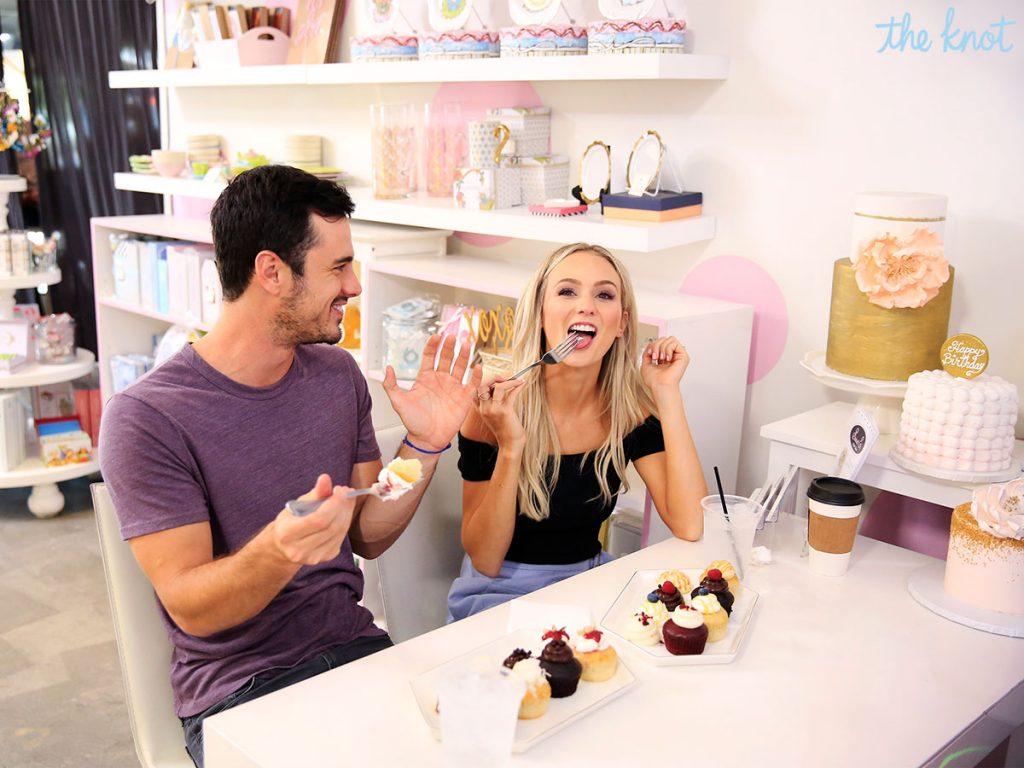 Wedding Cake Tasting.Ben Higgins And Lauren Bushnell Go Cake Tasting Exclusive