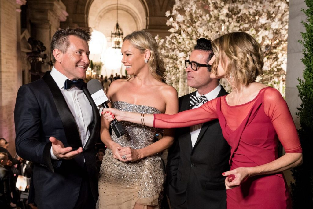 The Knot Gala Kym Johnson Mikie Russo Robert Herjavec Carley Roney