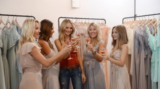 Lauren Bushnell bridesmaids dress