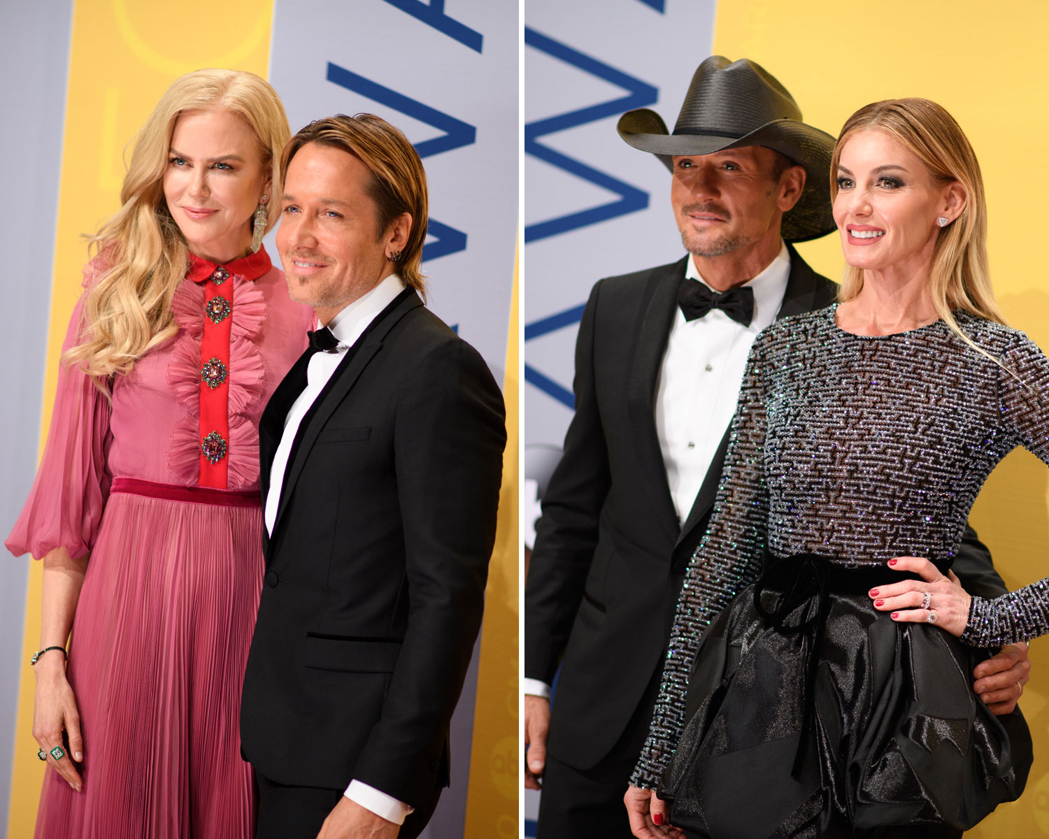 Nicole Kidman cmas faith hill