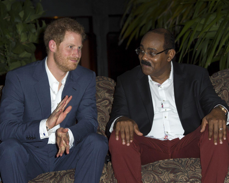 Prince Harry Caribbean