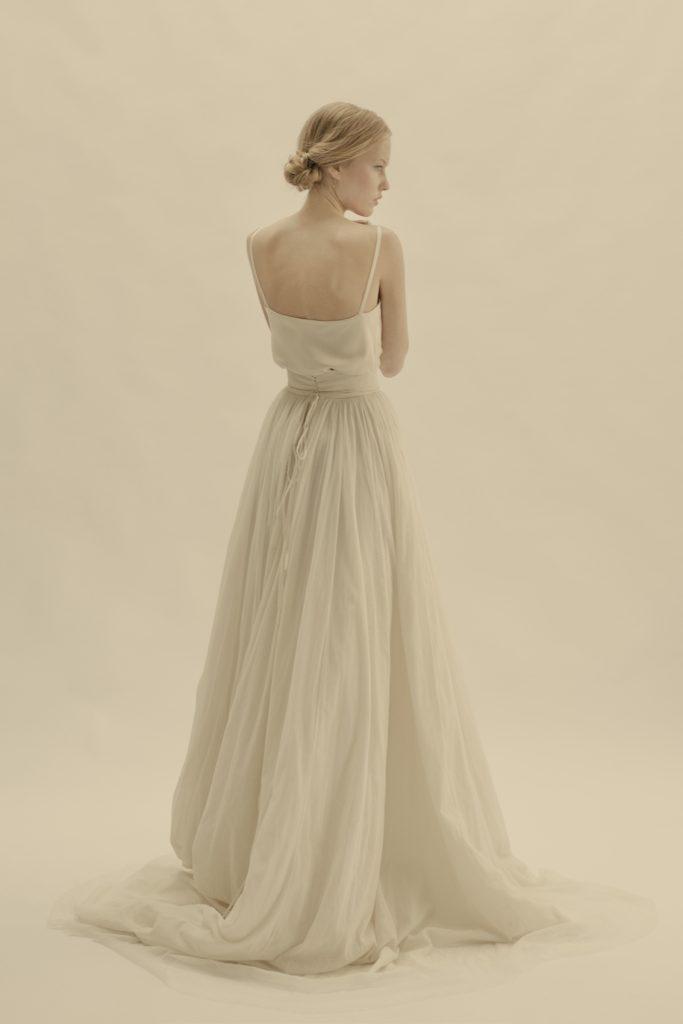 Troian Bellisario S Whimsical Boho Wedding Dress Details