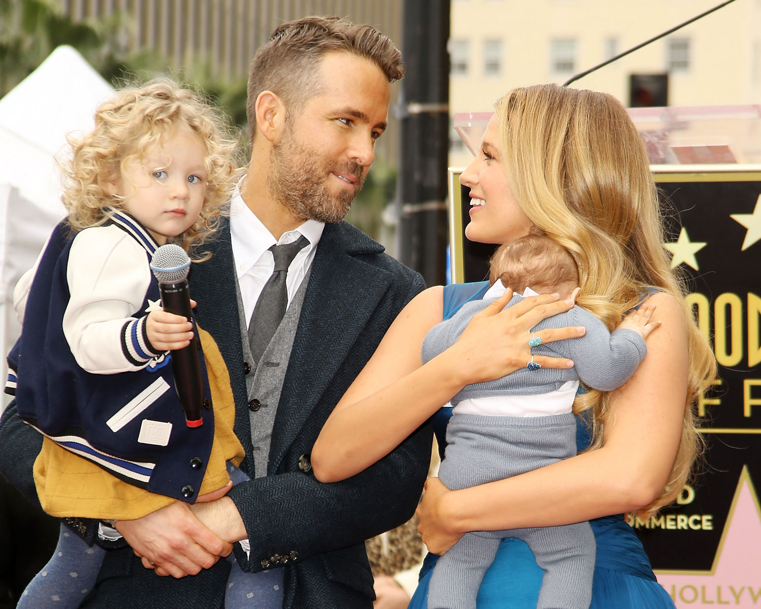 Ryan Reynolds Gives Blake Lively Shout-Out as Kids Make Debut