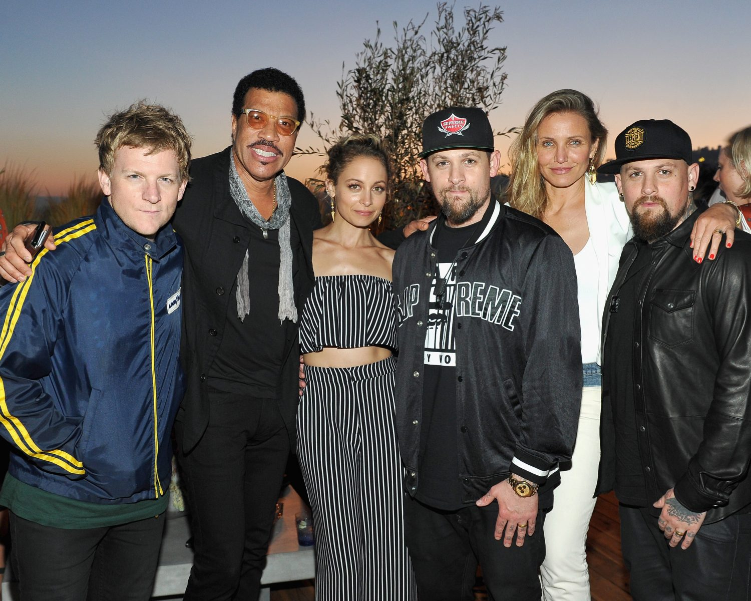joel and benji madden brought their famous wives to work