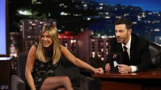 Jennifer Aniston Jimmy Kimmel