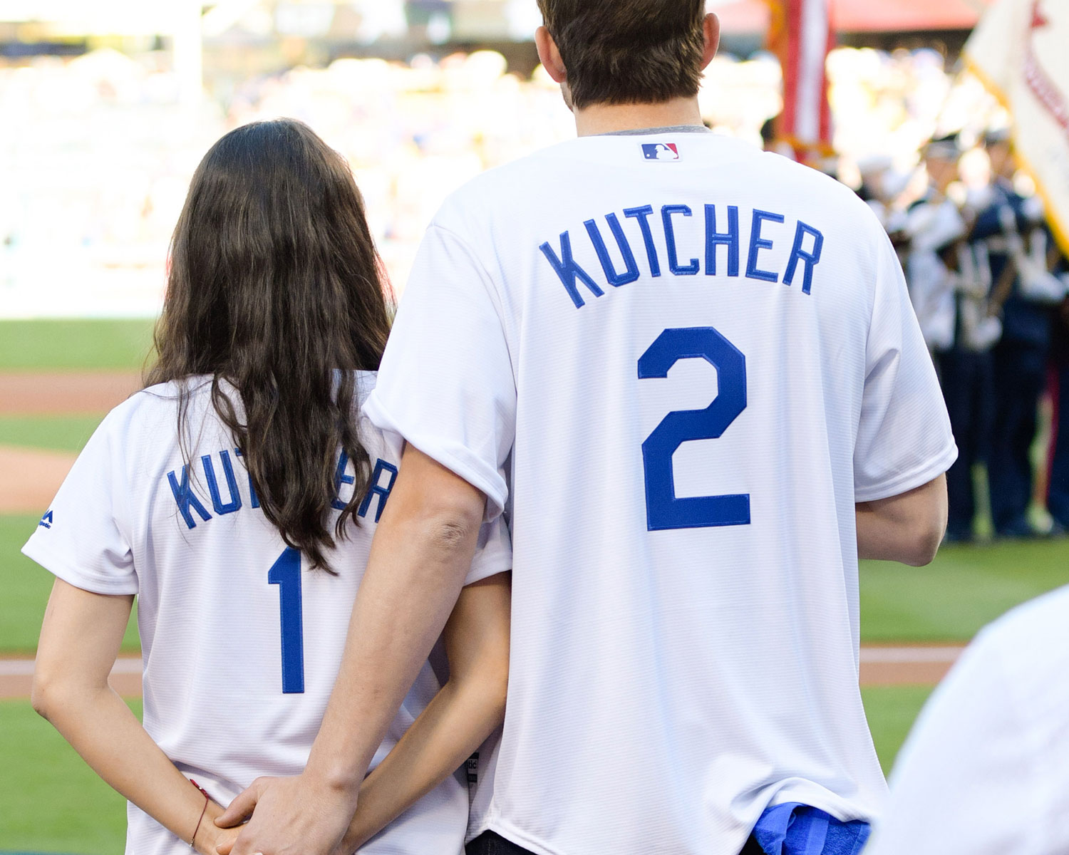 Kutchers Holding Hands Kunis