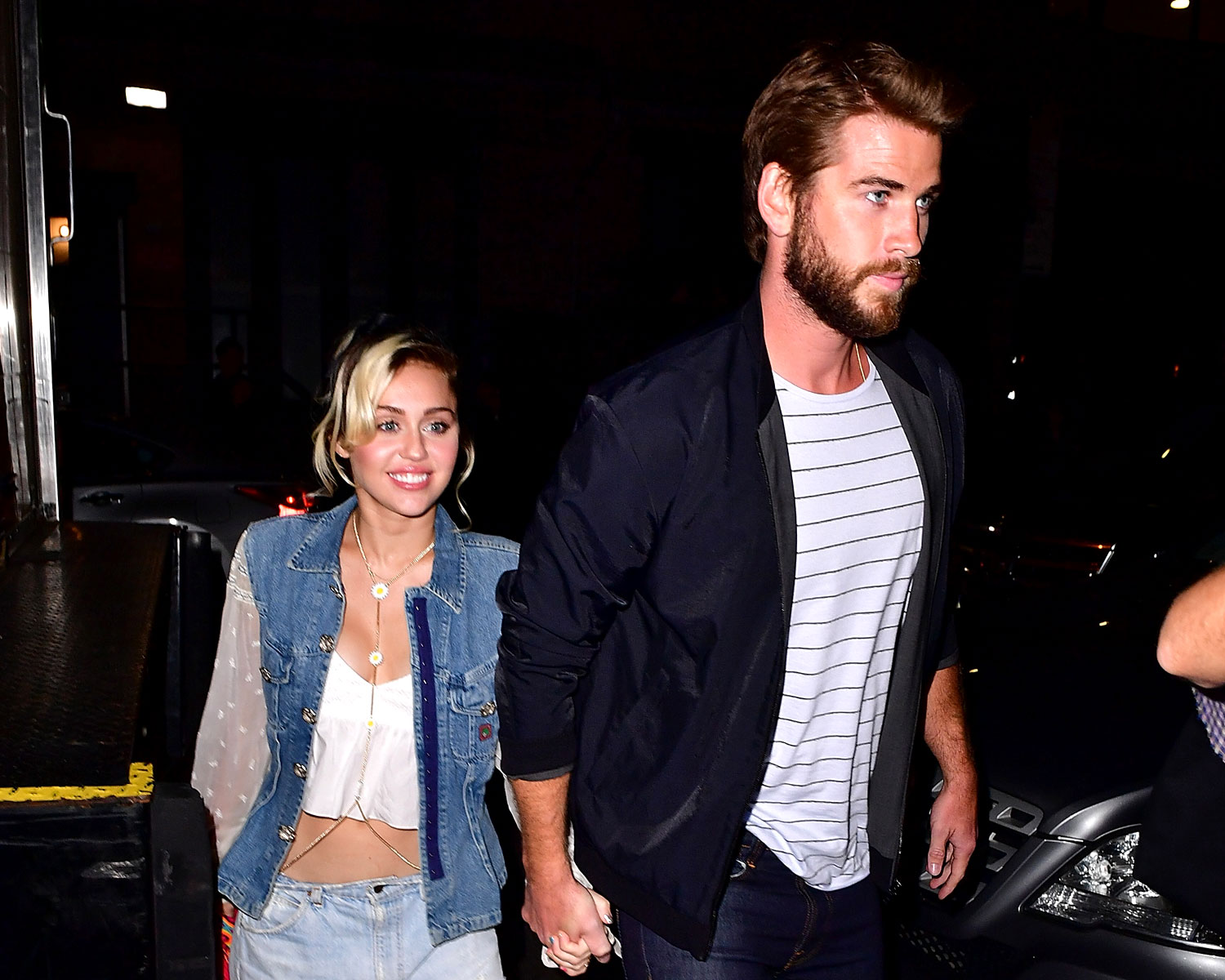 """Miley Wears Engagement Ring From Liam Hemsworth on """"Malibu ..."""