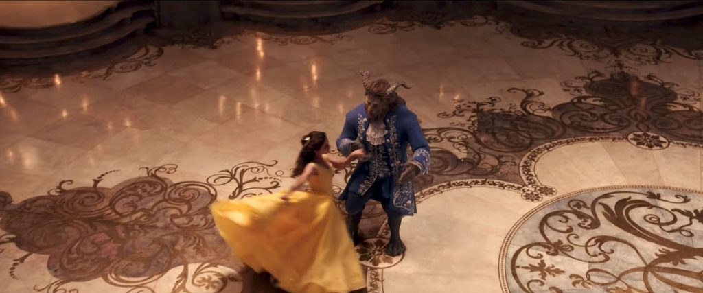 Beauty and the Beast trailer (Photo credit: Disney)
