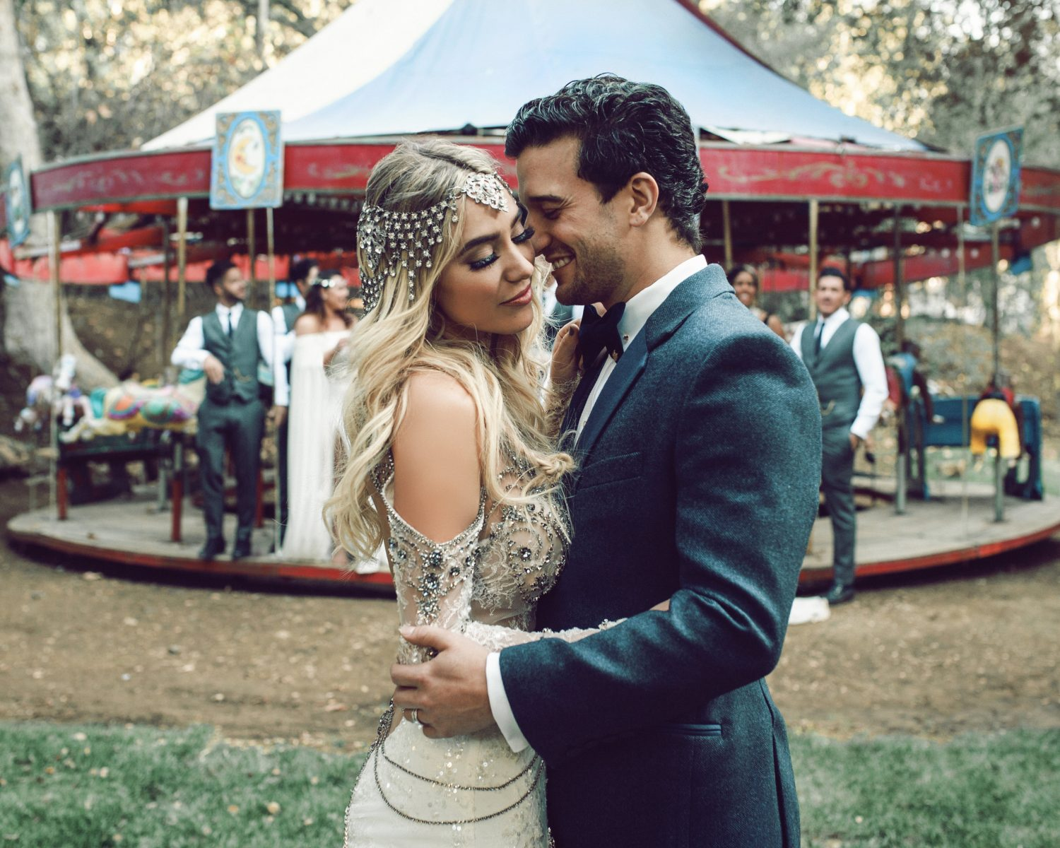 Mark Ballas And Bc Jean S Wedding Album Exclusive Details