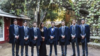 Mark Ballas and BC Jean's wedding. (Credit: Sydney and Dana Takeshta / London Light Photography)