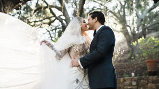 Mark Ballas and BC Jean's wedding. (Credit: Sydney and Dana Takeshta / London Light Photography)