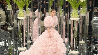 Chanel Lily Rose Pink Dress